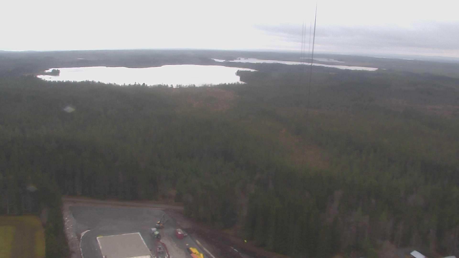 Webcam Brattåsen, Östersund, Jämtland, Schweden