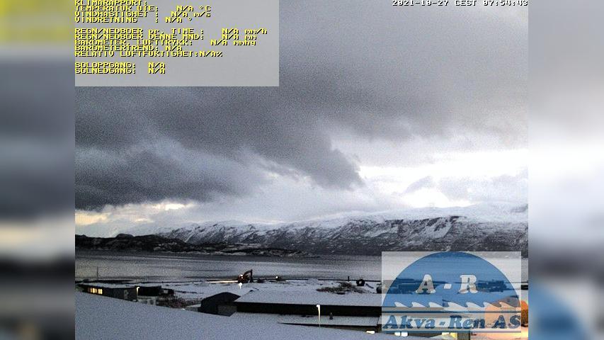 Webcam Lyngsdalen: Furuflaten,Lyngenfjorden