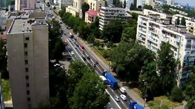 Webkamera Chokolivka: Краснозвездный проспект − ул. М. Криво