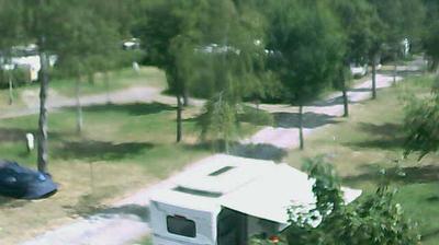 Tageslicht webcam ansicht von Medernach: Campsite Auf Kengert