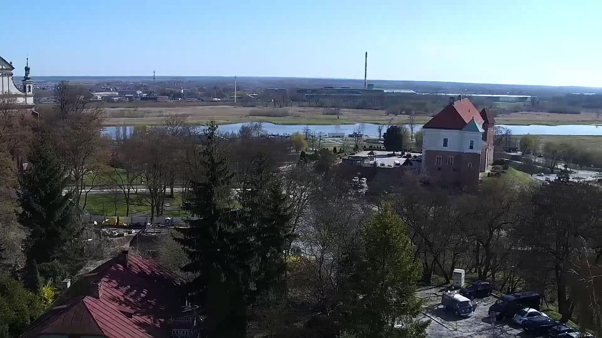 Webcam Sandomierz: Panorama Sandomierza
