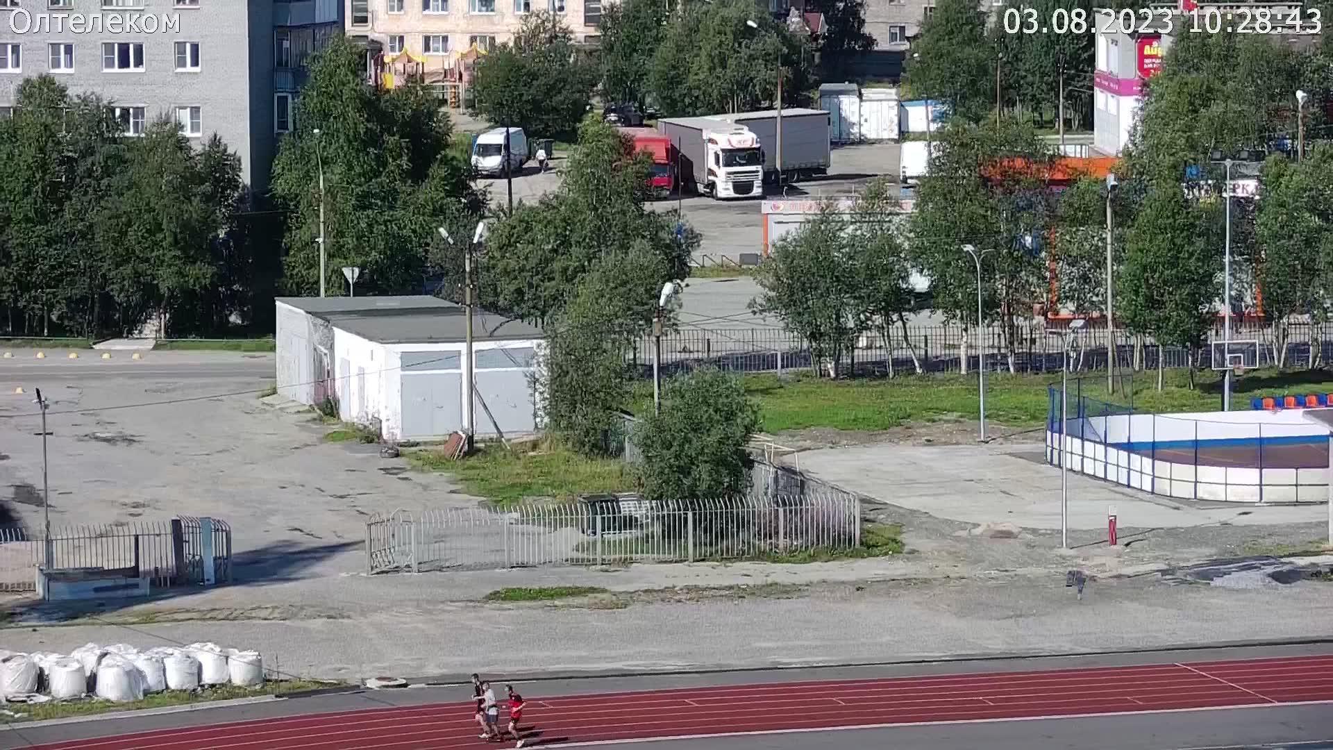 Webkamera Olenegorsk: Стадион