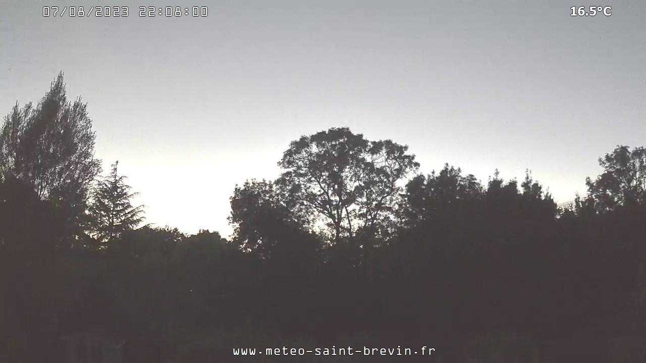 Webcam Saint-Brevin-les-Pins › West: Région − Vue du ciel