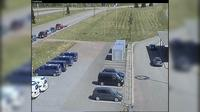 Virolahti: Tie - Vaalimaa - Kuva raja-asemalta it��n - Day time