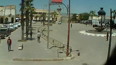 Vue webcam de jour à partir de Taza: Place Moulay Hassan