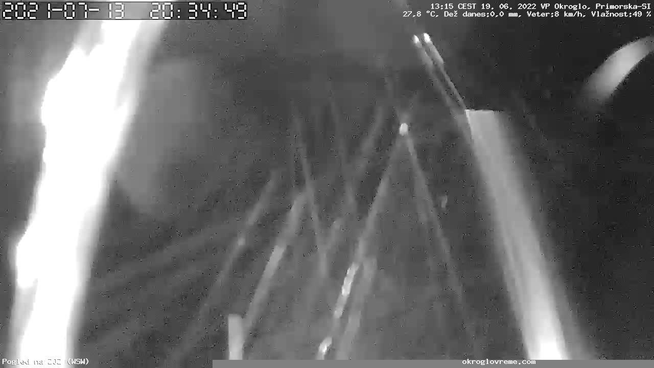 Webkamera Banjšice › South-West: Banjsice