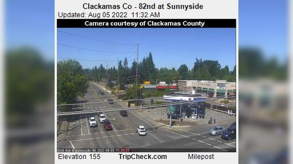 Webcam Harmony: Clackamas Co − 82nd at Sunnyside