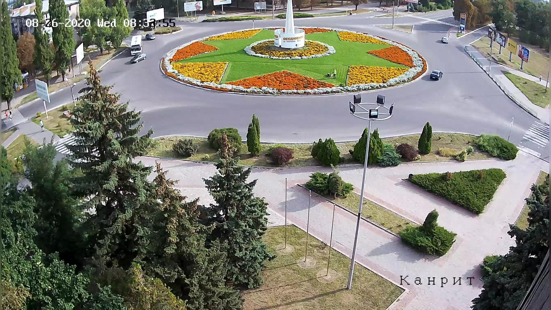Webkamera Nikopol › North