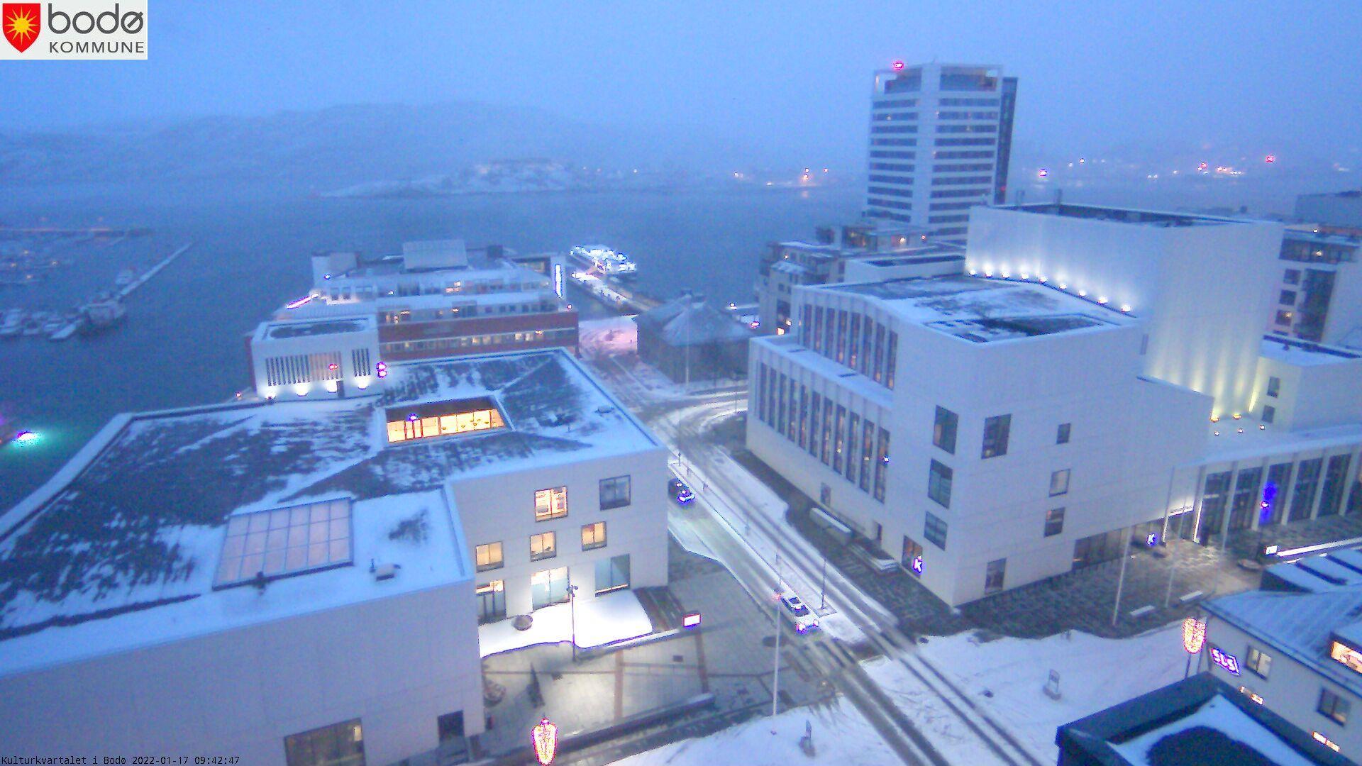 Webcam Bodø › North-West: Stormen Konserthus − Bodø Publi