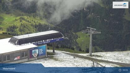 Lenk: im Simmental - Metschstand, BergstationXpress