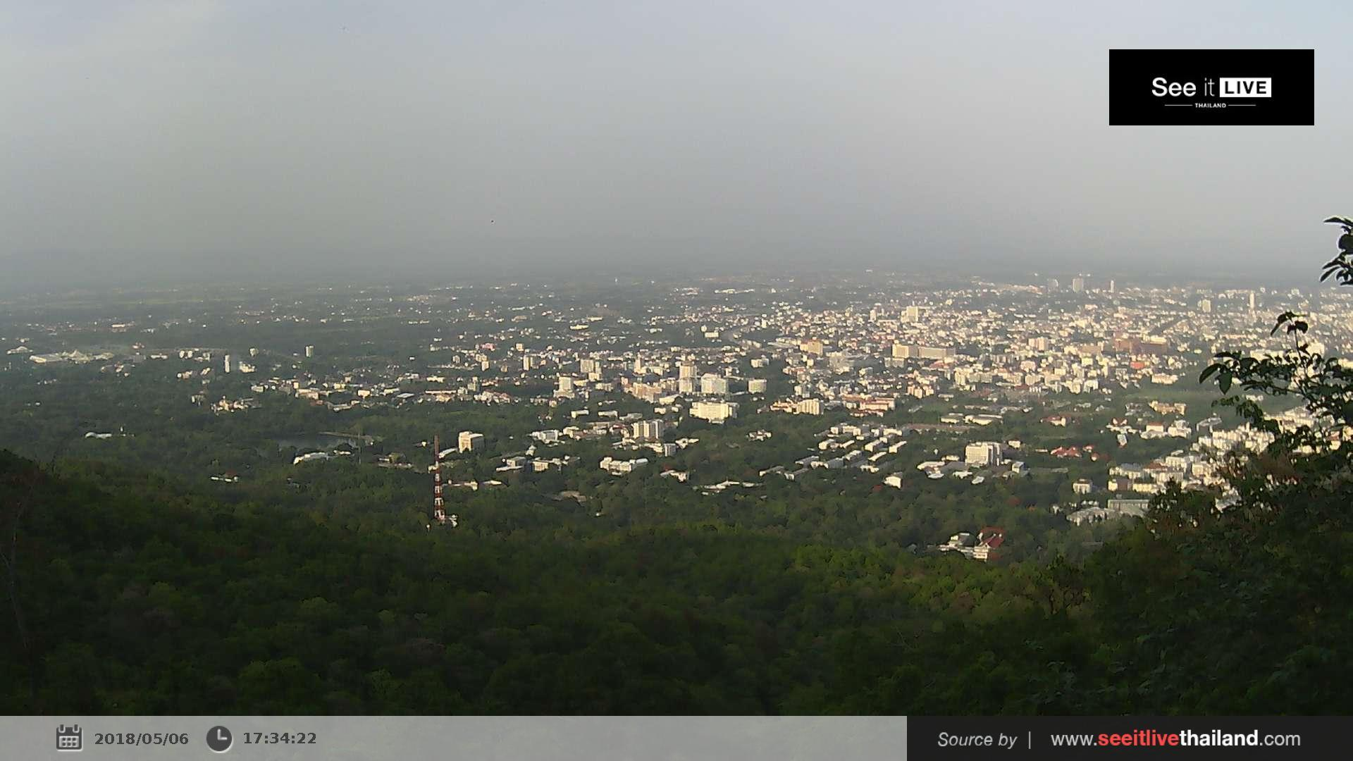 Webcam บ้านเชิงดอย: National Park Doi Suthep Pui − View P