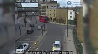 London: Blackheath Rd/Greenwich High Rd - Day time