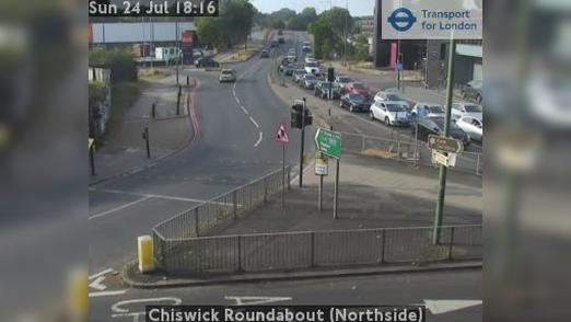 Webcam Acton: Chiswick Roundabout (Northside)