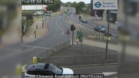 Acton: Chiswick Roundabout (Northside) - Day time
