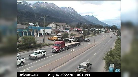 Webkamera Smithers › North: Hwy 16 in − at Main Street, look