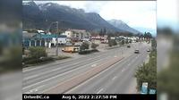 Smithers › North: Hwy  in - at Main Street, looking north