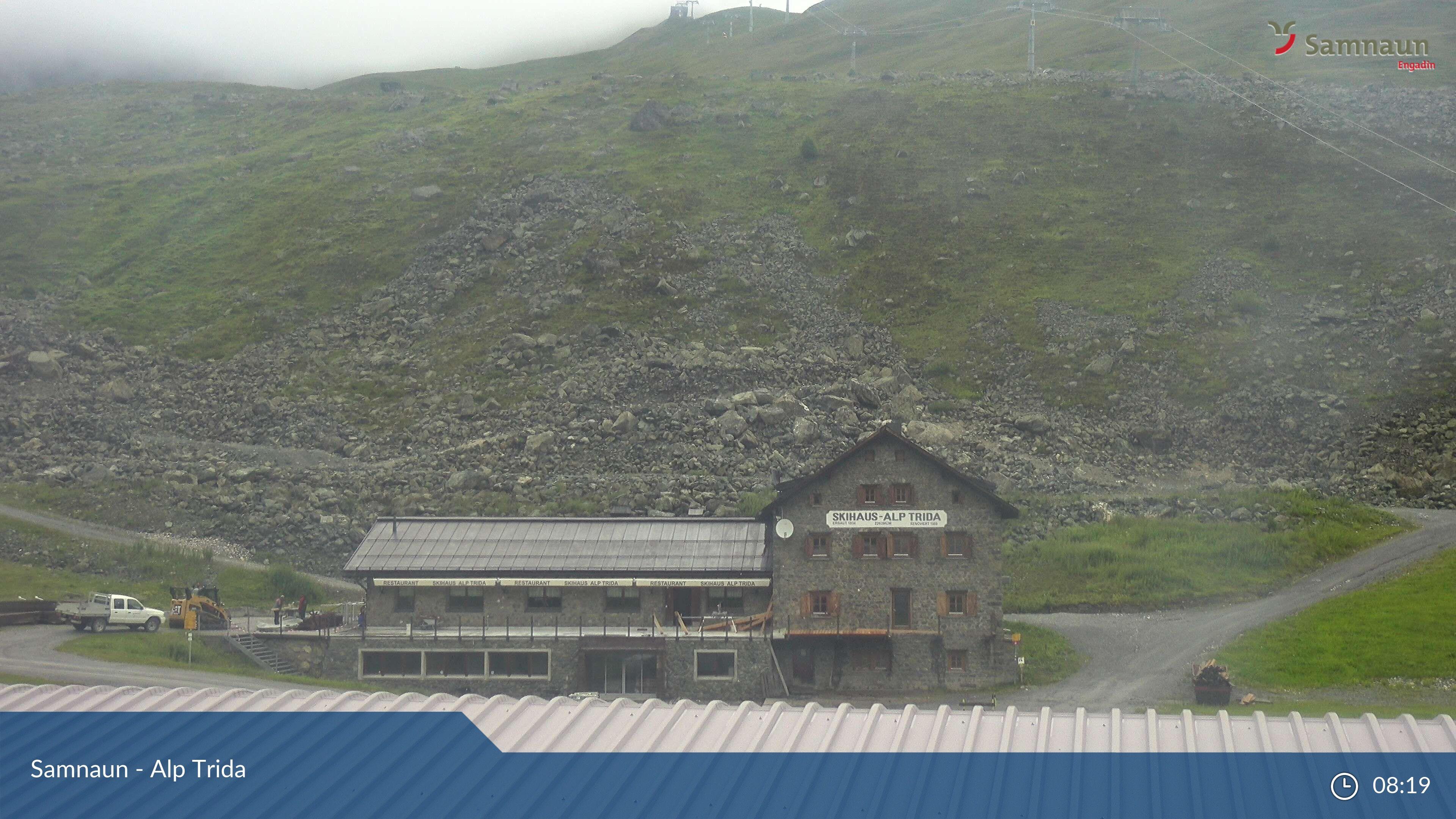 Compatsch: Samnaun - Alp Trida, Restaurant Skihaus