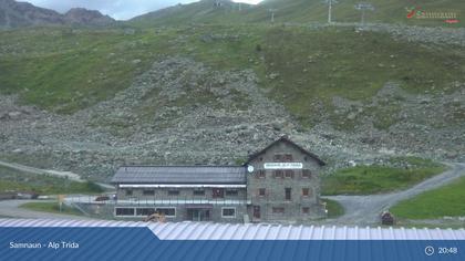 Samnaun-Compatsch: Samnaun - Alp Trida, Restaurant Skihaus