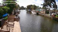 Fort Lauderdale › South: Plantation Isles - Plantation canal, turtle float and underwater view - El día