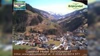 Ultima vista de la luz del día desde Grossarl: Webcam − Großarl Zentrum Salzburger Land