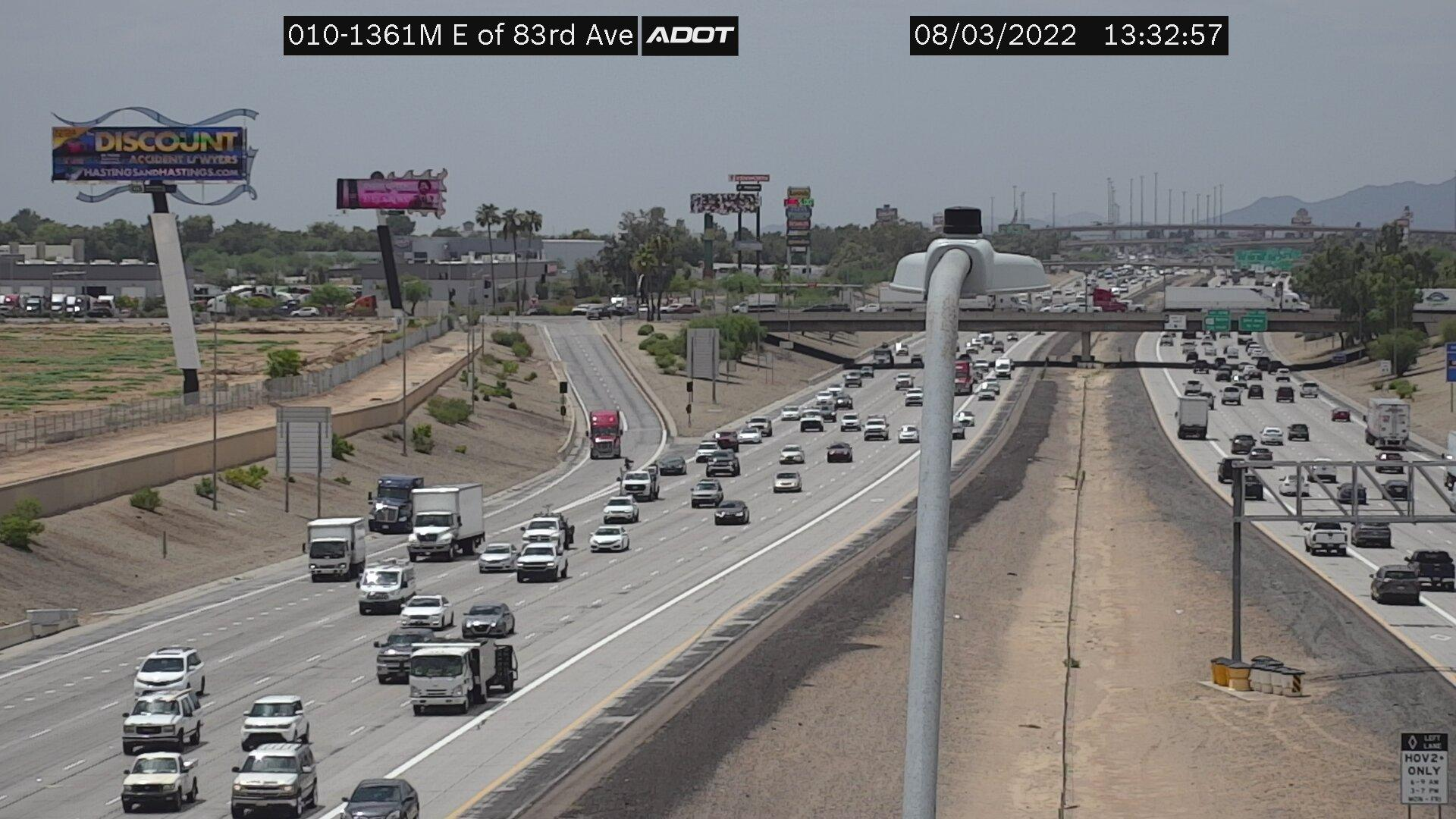 Webcam J and M Trailer Park: I-10W and 83rd Ave