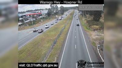 Vista de cámara web de luz diurna desde Abermain: Karalee − Warrego Highway − Queensborough Parade (West)