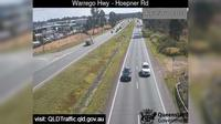 Abermain: Karalee - Warrego Highway - Queensborough Parade (West) - Overdag