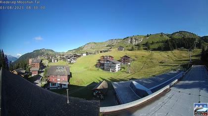 Riederalp: Aletsch Arena - Riederfurka Dorf von SB Riederfurka Bergstation