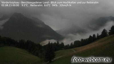 Thumbnail of Bischofswiesen webcam at 12:04, Jul 24