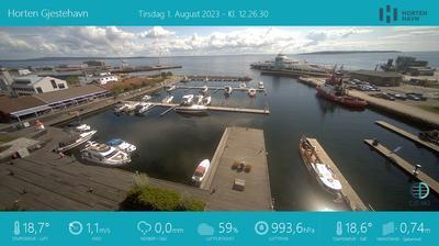 Horten Live webkamera - nå