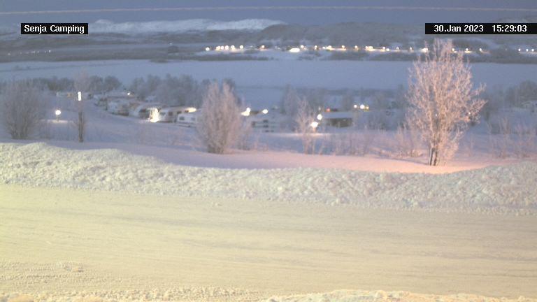 Webcam Høgli › North: Senja Camping