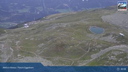 Fiesch: Aletsch Arena - Bergstation Eggishorn, Heimatt Piste