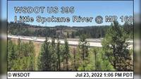 Spokane > North: US  at MP : Little - River () - Actual