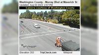 Beaverton: Washington County - Murray Blvd at Maverick St - Recent
