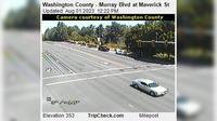 Beaverton: Washington County - Murray Blvd at Maverick St - Overdag