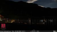 Gemeinde Lech > South-East: Z�rs - �sterreich: Skigebiet Z�rs am Arlberg - Blick in Richtung Flexenbahn mit Trittkopf und Ochskopf - Aktuell