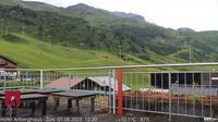 Lech > South-East: Z�rs - �sterreich: Skigebiet Z�rs am Arlberg - Blick in Richtung Flexenbahn mit Trittkopf und Ochskopf - Overdag
