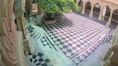 Vue webcam de jour à partir de Nagla Burja: Vrindavan Temple