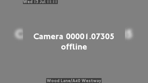 Webcam Acton: Wood Lane/A40 Westway
