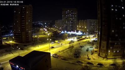 Webkamera Kazan': Ulitsa Akademika Glushko
