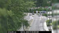 District of North Vancouver > North: , Hwy  (Upper Levels Highway) at Capilano Rd. looking north - Recent