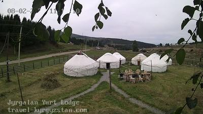 Tageslicht webcam ansicht von Jyrgalan › North: Jyrgalan Yurt Lodge