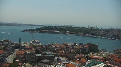 Tageslicht webcam ansicht von Arapcami: İstanbul Galata _ Tower