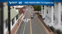 Fairfax: University Drive and Main Street Facing SB Traffic - Day time