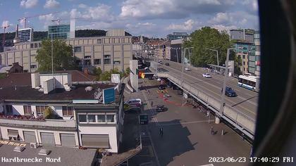 Zürich › Norden: Best Carwash - Hardbrücke - Jumbo compact Zürich - Hard One - Abaton - KV Zürich Business School - Escher Wyss