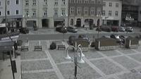 Ultima vista de la luz del día desde Judenburg: Judenburg Hauptplatz