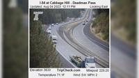 Pilot Rock: I- at Cabbage Hill - Deadman Pass - Overdag