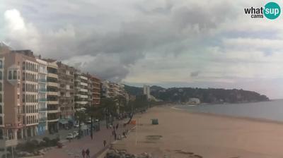 Tageslicht webcam ansicht von Macanet de la Selva: Lloret de Mar