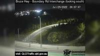 Caboolture: Bruce Highway - Narangba - Boundary Road (looking south) - Recent