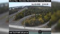Caboolture: Bruce Highway - Narangba - Boundary Road (looking south) - Dagtid